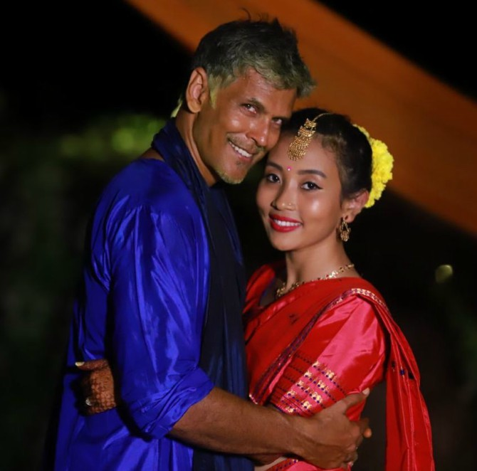 Latest News from India - Get Ahead - Careers, Health and Fitness, Personal Finance Headlines - Age no bar! Milind Soman, 52 marries Ankita Konwar, 27