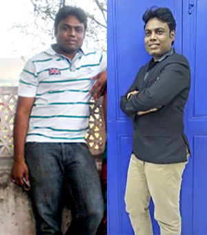 Fat to Fit: How this IT professional lost 17 kg in two years
