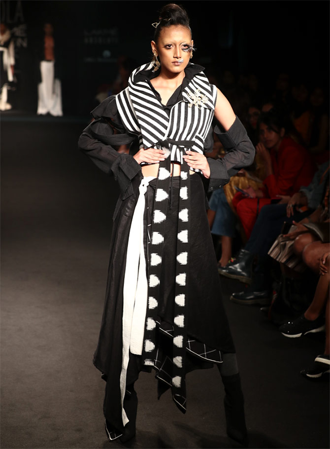 Chola by Sohaya Misra at Lakme Fashion Week Winter/Festive 2018