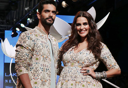 Neha Dhupia: Can't wait to see Angad change diapers