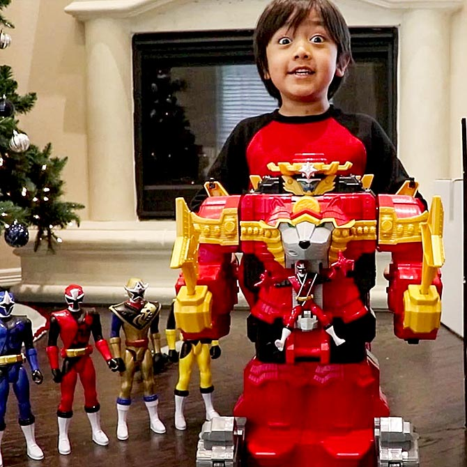 Ryans Toy Review Net Worth 2020.At 8 Ryan Is The Richest Youtube Star Rediff Com Get Ahead