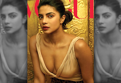 Ummm! Priyanka's naked dress is downright sexy