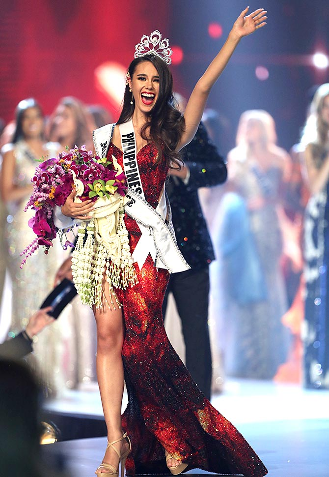 8545bb2d4 First look! And the new Miss Universe 2018 is... - Rediff.com Get Ahead