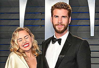 First look: Miley Cyrus gets married to Liam Hemsworth