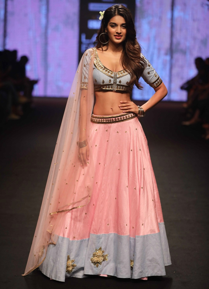 Nidhhi Agerwal Lakme Fashion Week