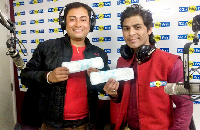 Mangesh at Big FM