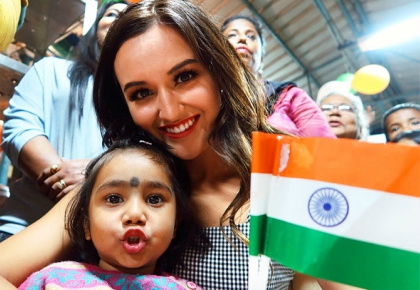 Latest News from India - Get Ahead - Careers, Health and Fitness, Personal Finance Headlines - Pics: 7 Miss World beauty queens are touring India with Manushi!