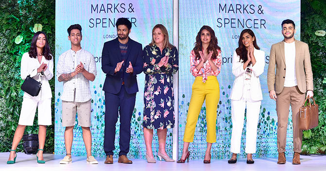 Pix: Esha Gupta, Ali Fazal Launch Summer Fashion