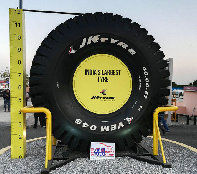 Largest Tyre