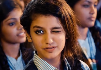 Latest News from India - Get Ahead - Careers, Health and Fitness, Personal Finance Headlines - Priya Prakash Varrier: The girl internet is crushing over right now