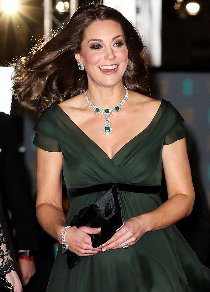 The Real Reason Why Kate Wore Green To The Bafta Red