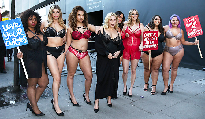Latest News from India - Get Ahead - Careers, Health and Fitness, Personal Finance Headlines - Why were plus-size models protesting outside London fashion week?
