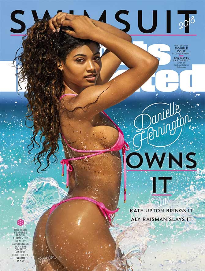 Latest News from India - Get Ahead - Careers, Health and Fitness, Personal Finance Headlines - The third black model to grace the SI Swimsuit edition