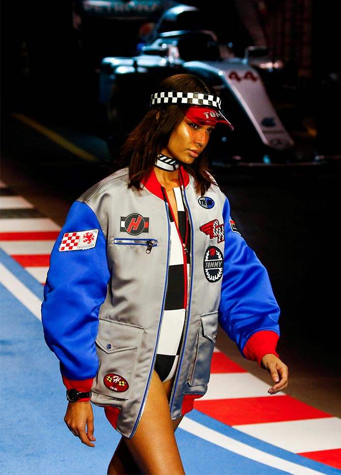 Tommy Hilfiger Spring/Summer 2018 collection