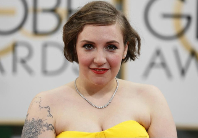 Lena Dunham girls hysterectomy endometriosis