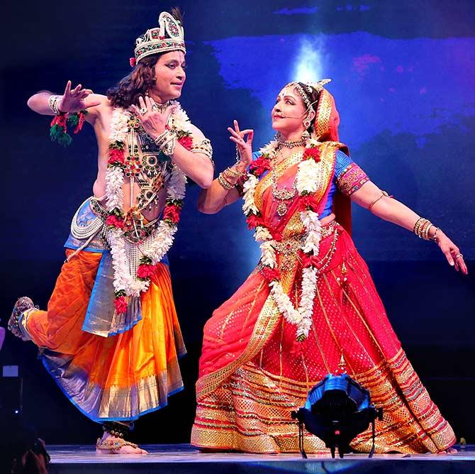 Pics: The eternal Holi love story in Krishna's Braj - Rediff com Get