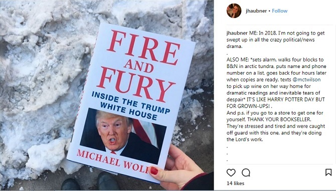 Michael Wolff Trump book Fire and Fury