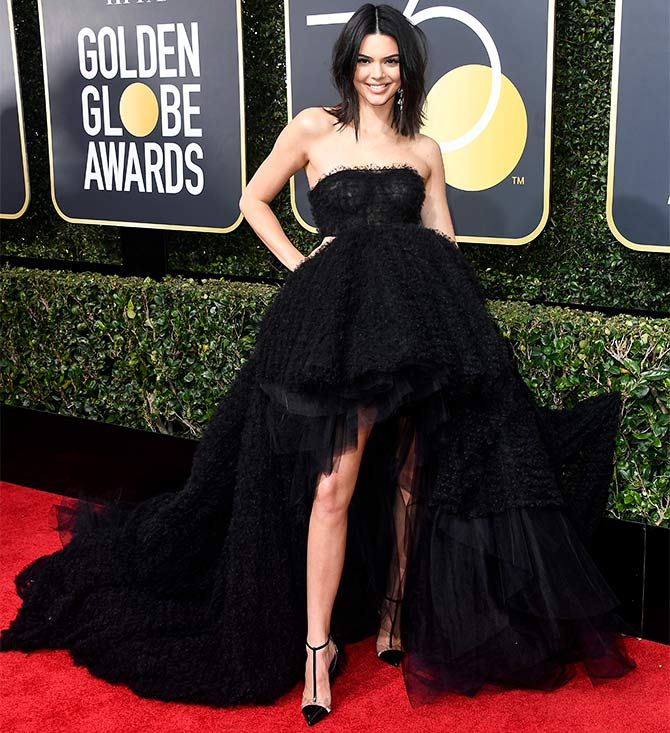 Kendall Jenner at 75th golden globes