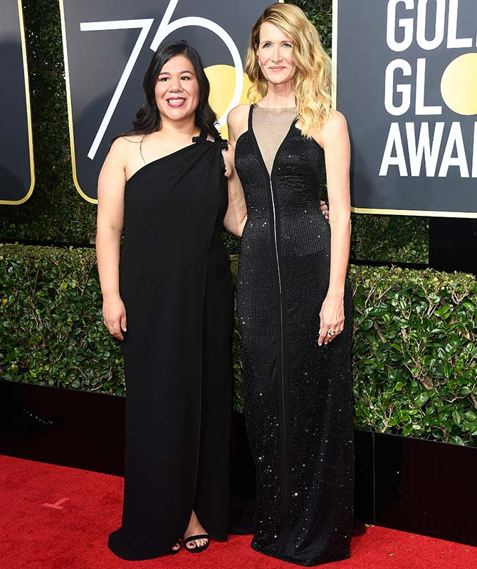 monica ramirez Golden Globes