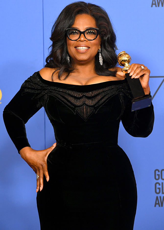 Latest News from India - Get Ahead - Careers, Health and Fitness, Personal Finance Headlines - Why Golden Globes is celebrating Oprah Winfrey