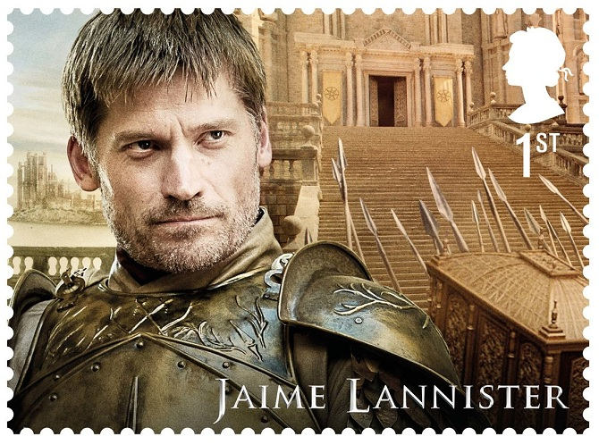 Royal Mail Game of Thrones stamps