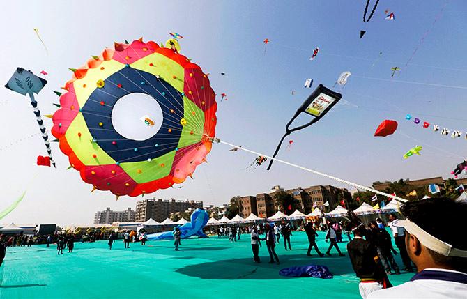 Sankrant Kite Festival