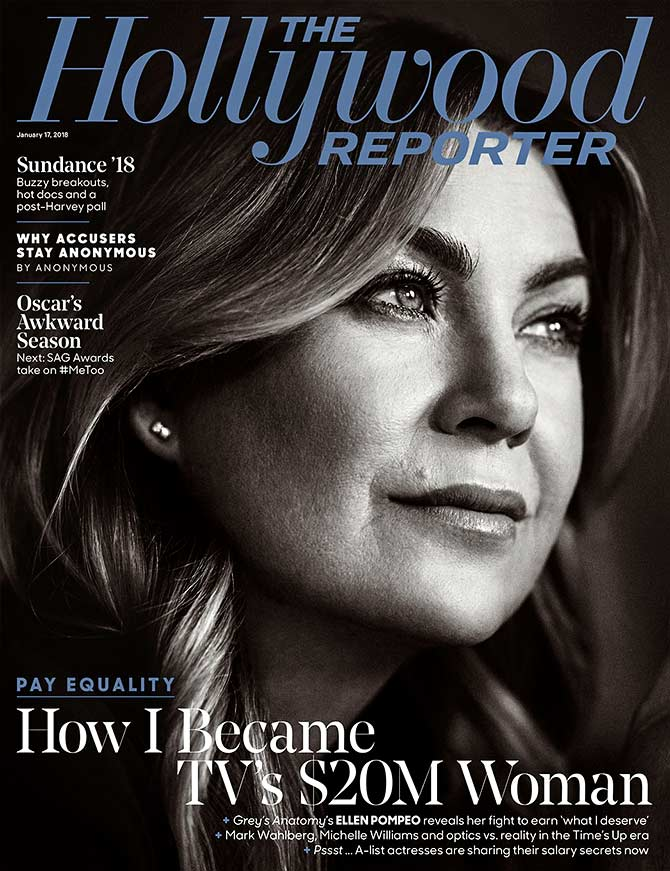 Ellen Pompeo on Hollywood Reporter