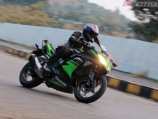 This Kawasaki Ninja Is A Good All Rounder Rediffcom Get Ahead