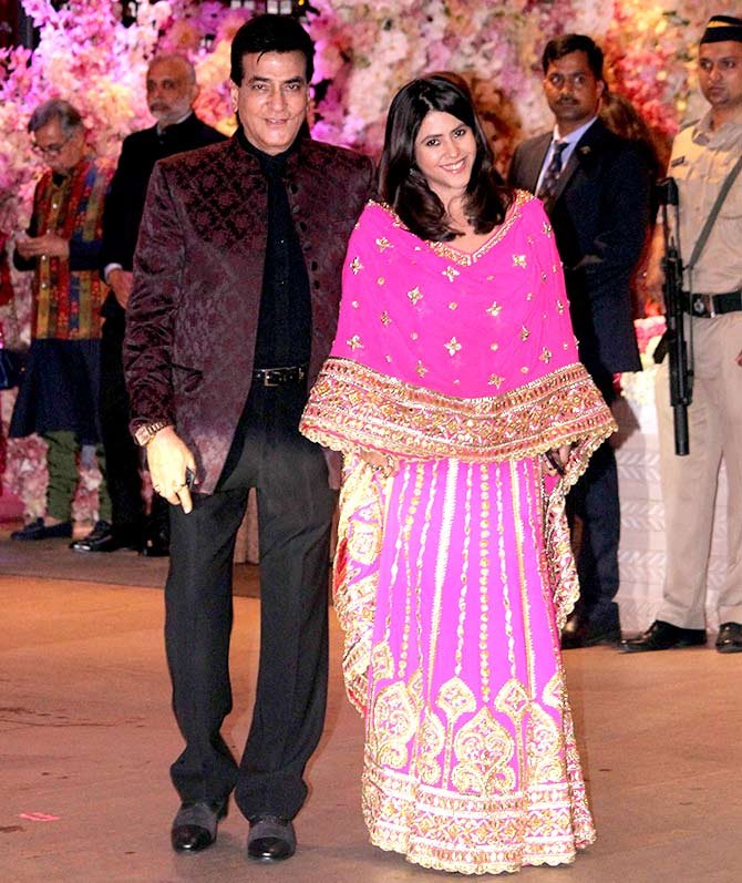 Jitendra and Ekta Kapoor