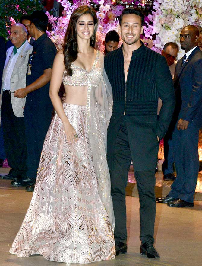 Disha and Tiger Shroff
