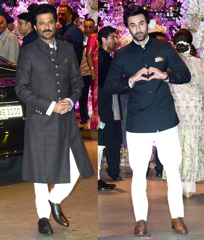 Anil Kapoor and Ranbir