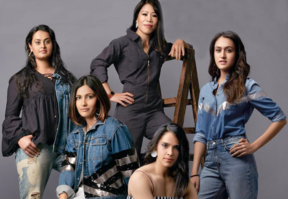 Latest News from India - Get Ahead - Careers, Health and Fitness, Personal Finance Headlines - India's golden girls glam up Femina's latest cover