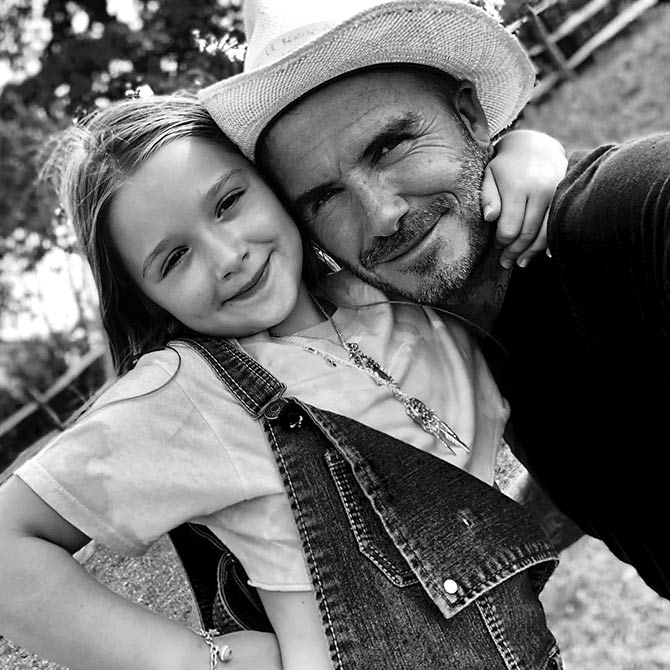 Must-read! David Beckham's adorable post for his 'little princess'