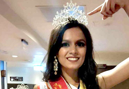 Latest News from India - Get Ahead - Careers, Health and Fitness, Personal Finance Headlines - Why is this beauty queen upset with India