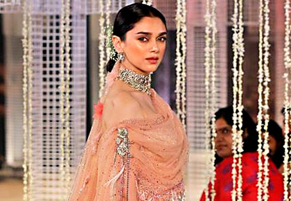 Latest News from India - Get Ahead - Careers, Health and Fitness, Personal Finance Headlines - Aditi's modern bridal look will leave you spellbound