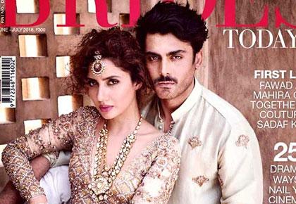 Latest News from India - Get Ahead - Careers, Health and Fitness, Personal Finance Headlines - Love is in the air! Fawad and Mahira reunite