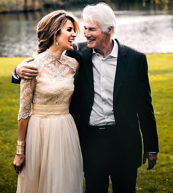 Carey lowell wedding