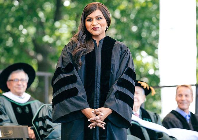Mindy Kaling at Dartmouth College