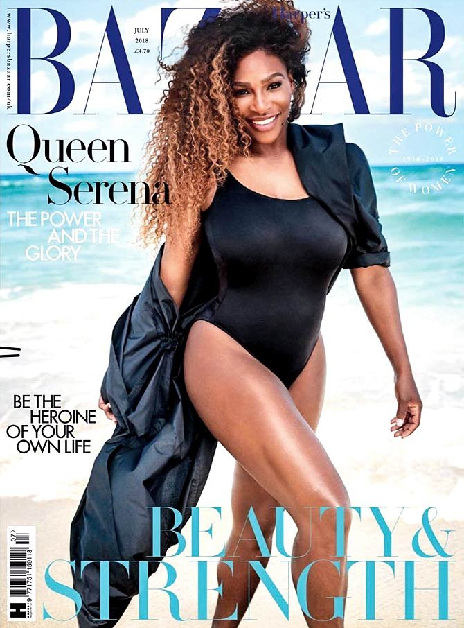 Latest News from India - Get Ahead - Careers, Health and Fitness, Personal Finance Headlines - Strong! Sexy! Stylish: Being Serena Williams