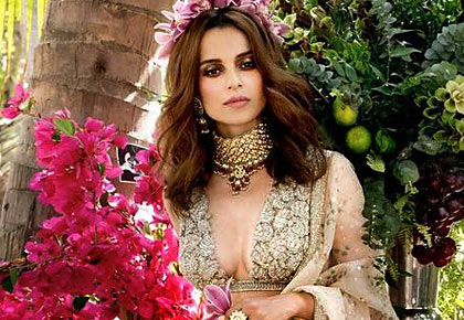 Latest News from India - Get Ahead - Careers, Health and Fitness, Personal Finance Headlines - Can you guess why Kangana is dressed as a bride?