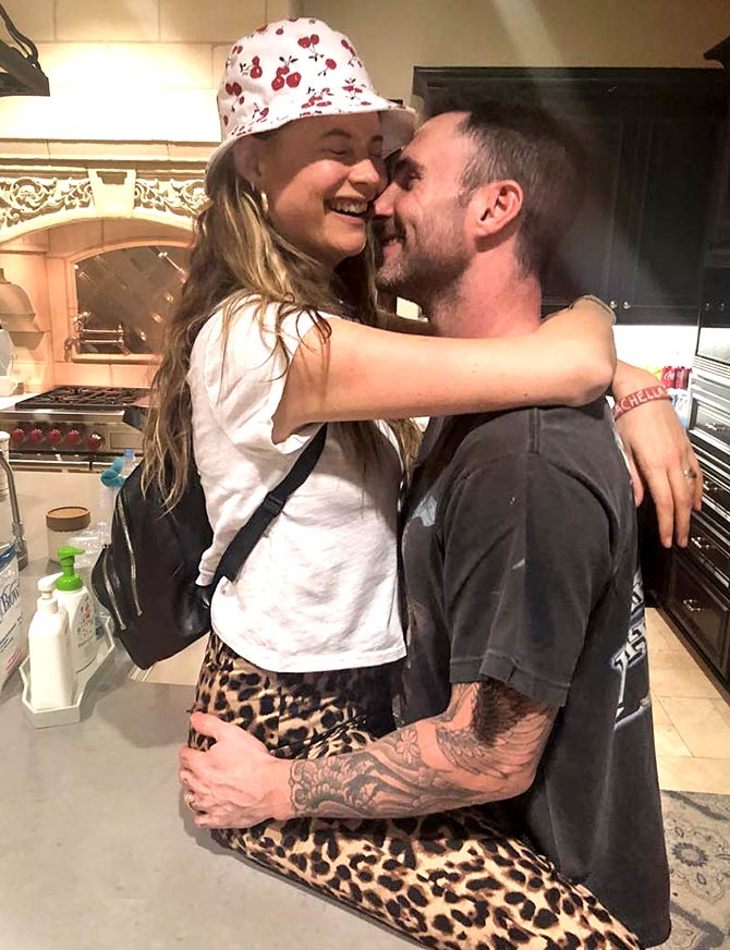 Latest News from India - Get Ahead - Careers, Health and Fitness, Personal Finance Headlines - Behati Prinsloo shares adorable pic of baby Geo