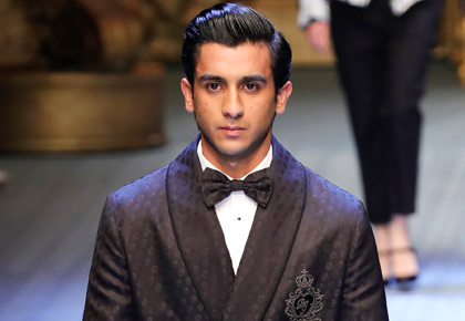 Latest News from India - Get Ahead - Careers, Health and Fitness, Personal Finance Headlines - The Indian maharaja who walked the ramp for Dolce & Gabbana