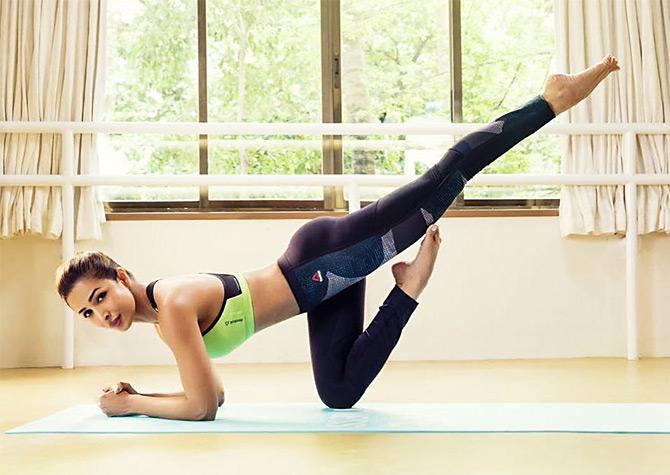 Malaika Arora is a great fan of yoga