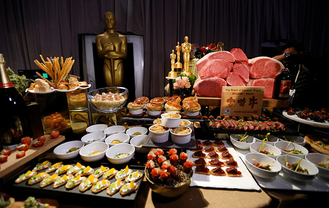 Oscars Special: The menu at the Governor's Ball