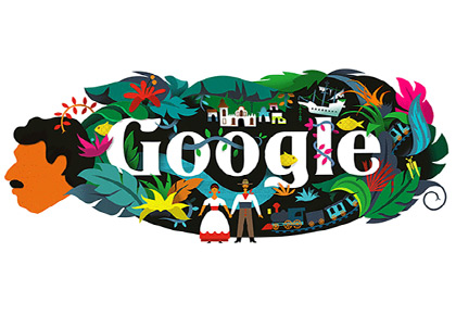 Latest News from India - Get Ahead - Careers, Health and Fitness, Personal Finance Headlines - Google doodles Spanish writer Gabriel Garcia Marquez