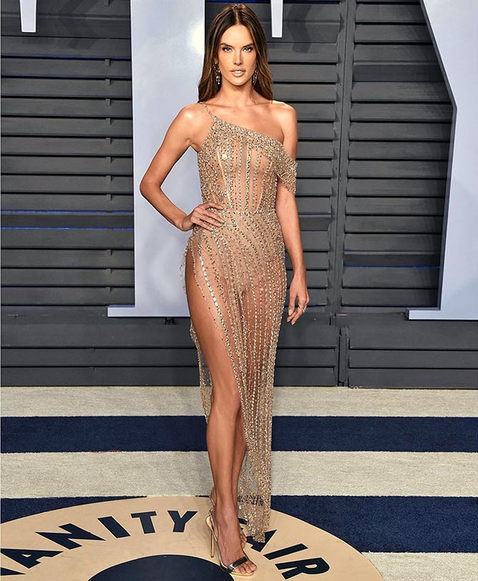 PIX: The most naked dresses of 2018 - Rediff.com Get Ahead