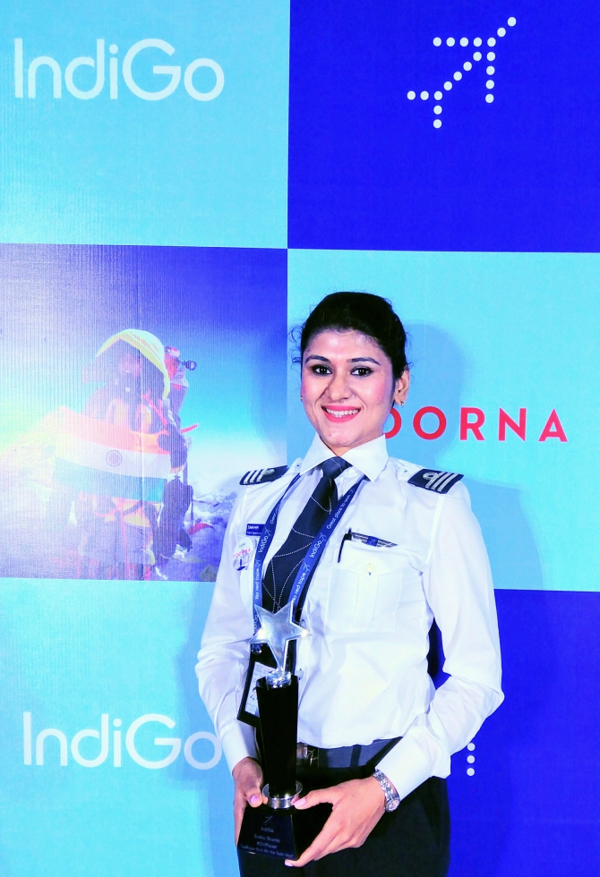 Sneha Sharma -- racer and pilot
