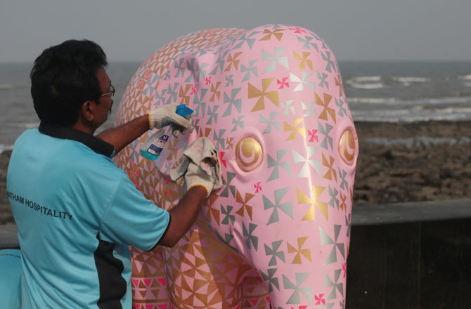 elephant parade worli
