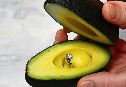 Why the Internet is in love with 'avocado proposals'