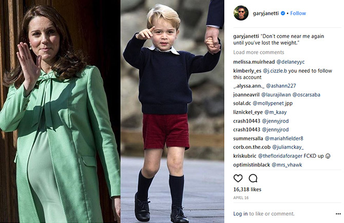 Gary Janetti's Instagram account